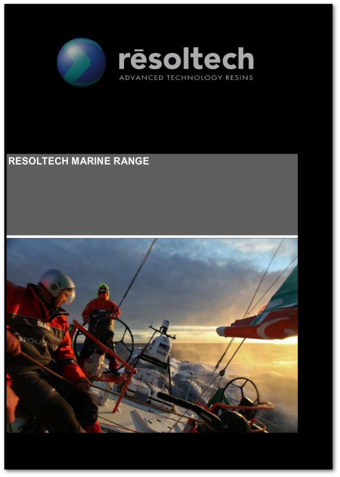 New Resoltech Marine Range Brochure