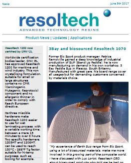 resoltech newsletter 01