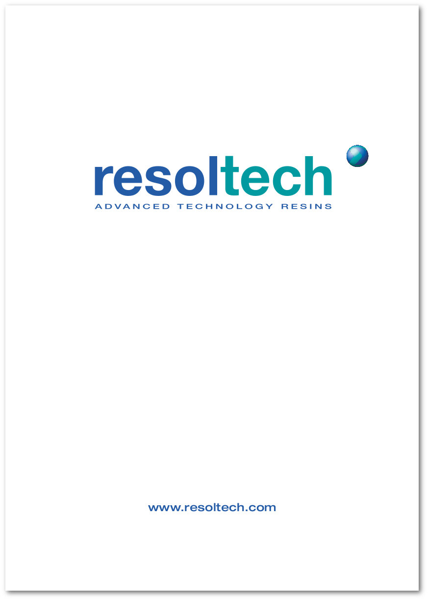 Nouveau Resoltech Catalogue general