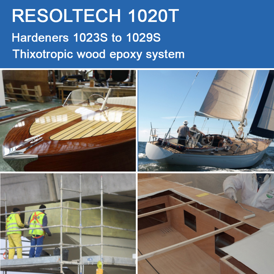 Applications of 1020T for Adhesives and Wet layup