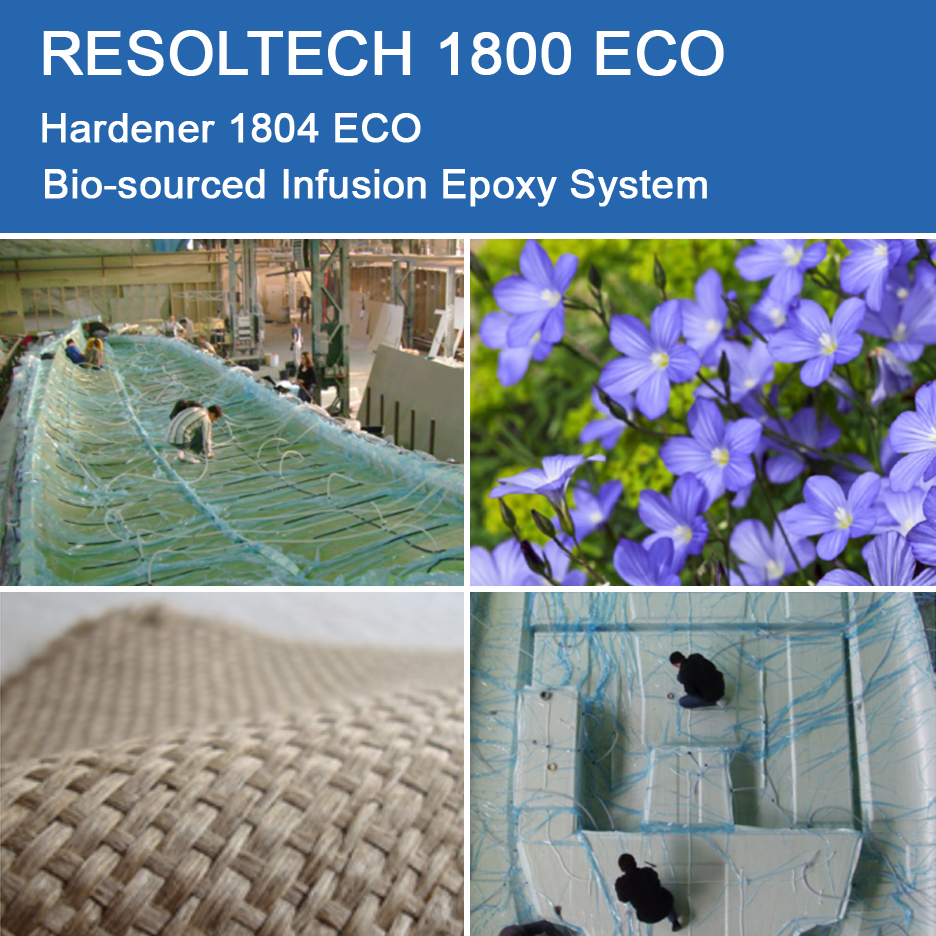 Applications of 1800 ECO for Injection Moulding / RTM and Infusion