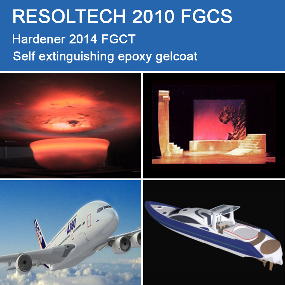 Applications of 2010 FGCS for Gelcoats
