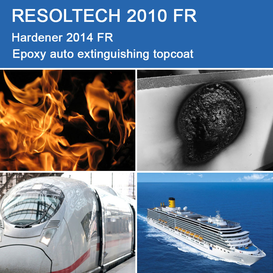 Applications of 2010 FR for Primers, Paints and Varnish, Gelcoats and Casting