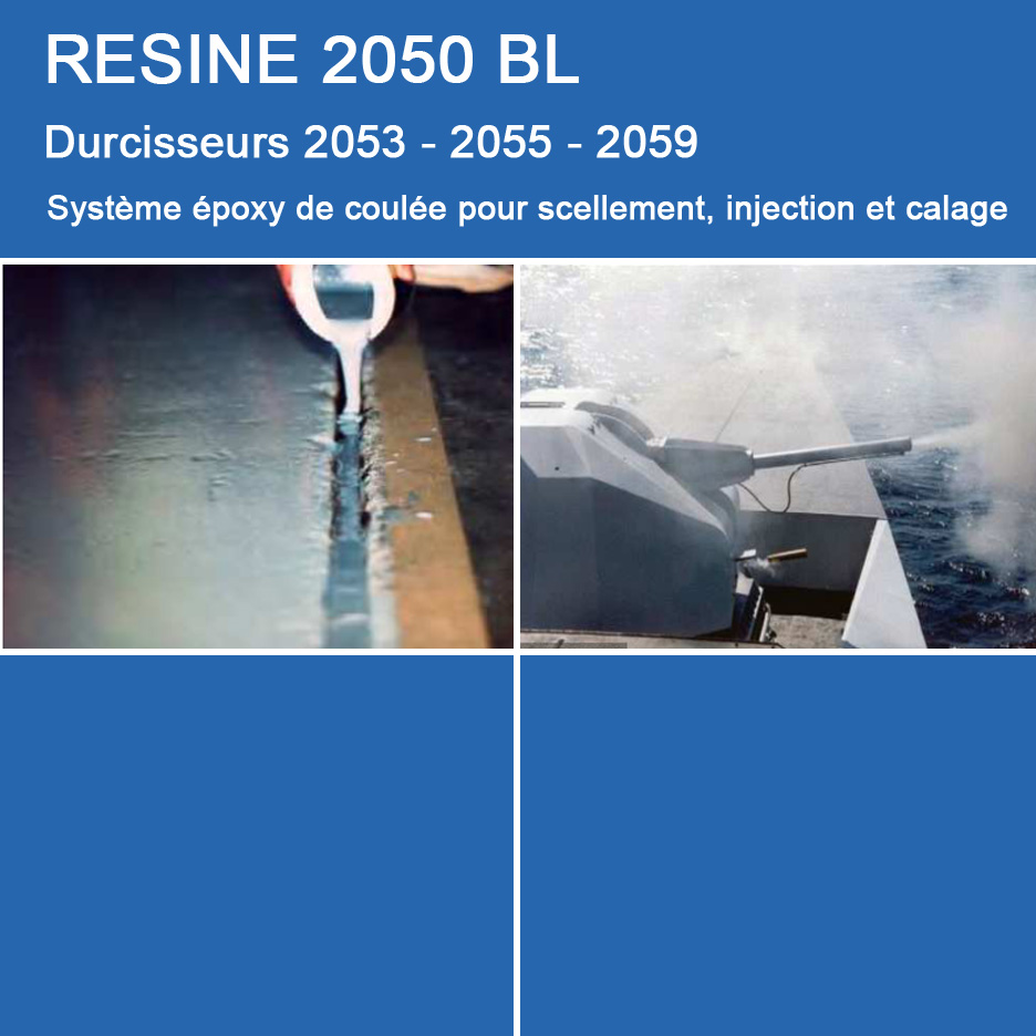 Applications de 2050 BL pour Coulée