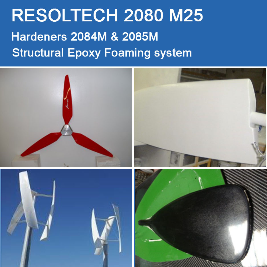 Applications of 2080 M25 for Casting and Foaming