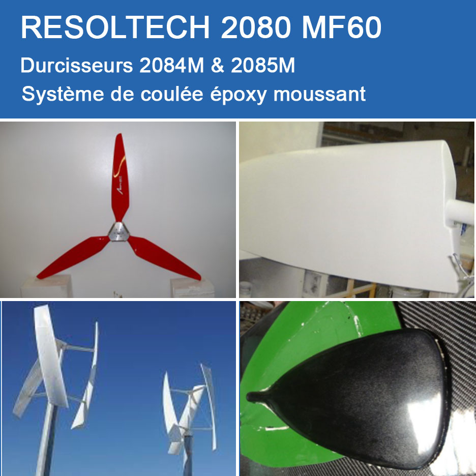 Applications de 2080 M60 pour Coulée et Moussants