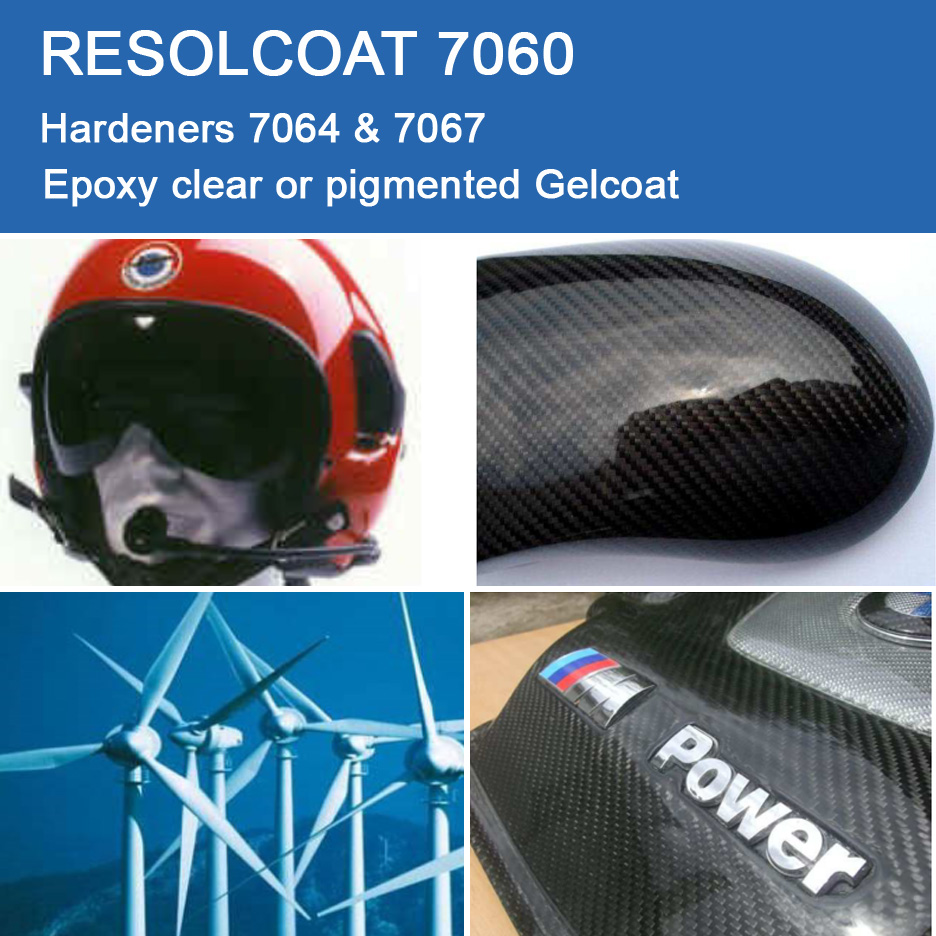 Applications of 7060 for Gelcoats