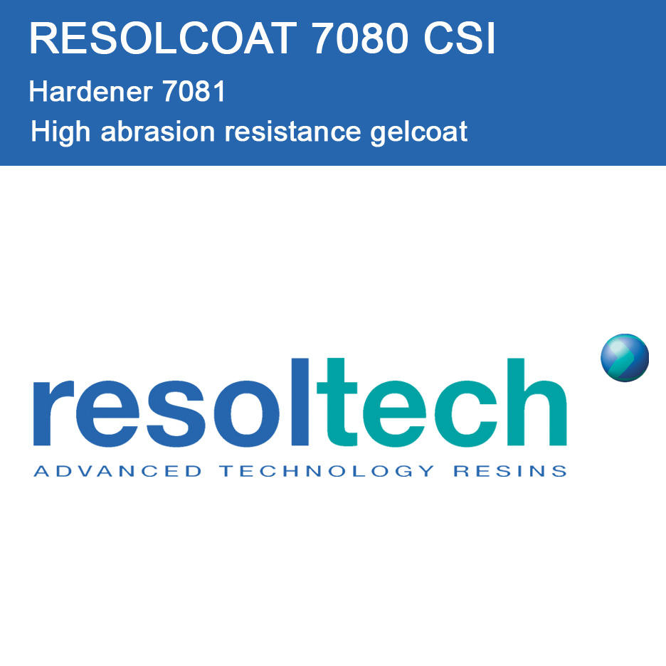 Applications of 7080 CSI for Gelcoats