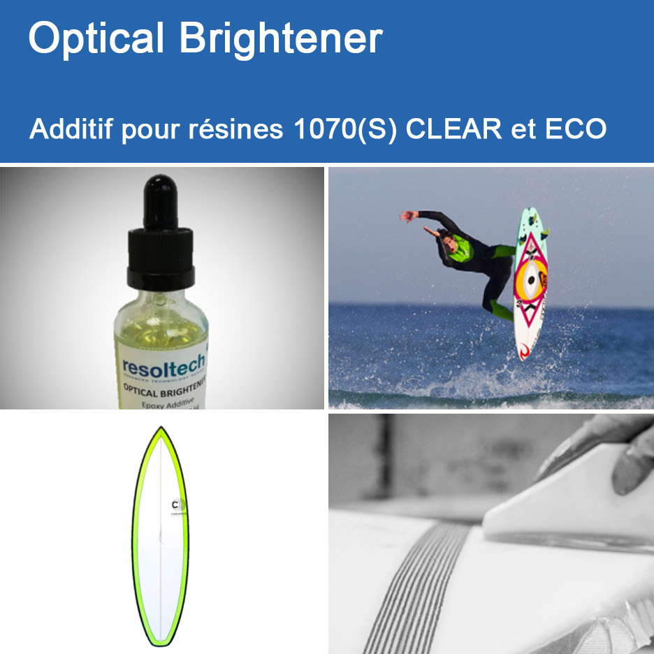 Applications de 1070S CLEAR pour Enroulement Filamentaire, Injection / RTM et Voie Humide