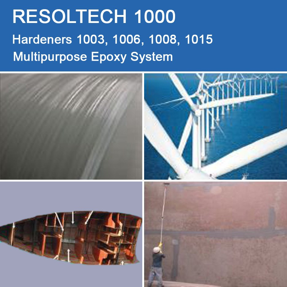Applications of 1000 for Casting, Injection Moulding / RTM and Wet layup