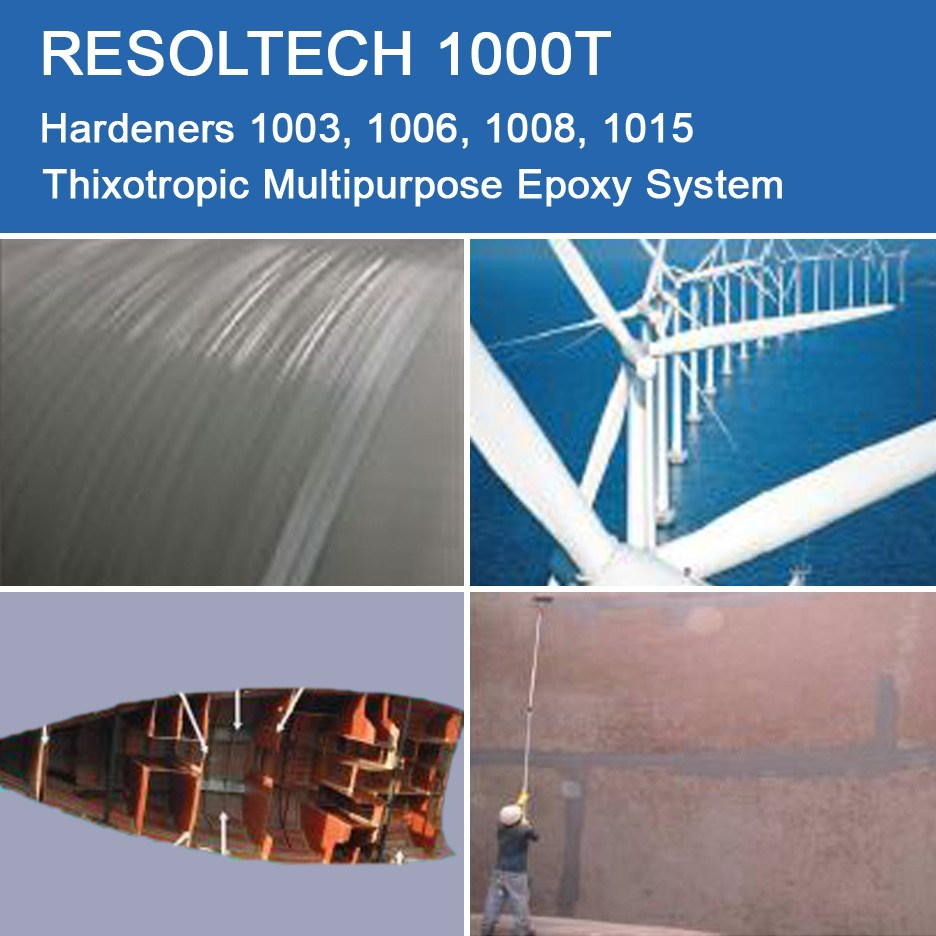 Applications of 1000T for Casting, Injection Moulding / RTM and Wet layup