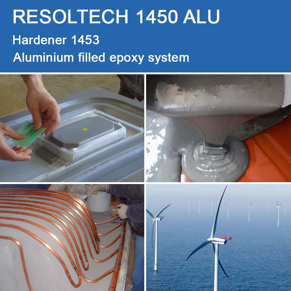 Applications of 1450 ALU for Casting, Injection Moulding / RTM and Wet layup
