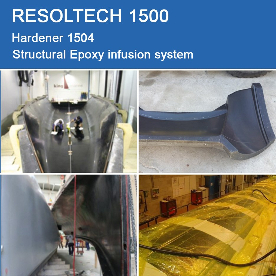 Applications of 1500 for Injection Moulding / RTM and Infusion