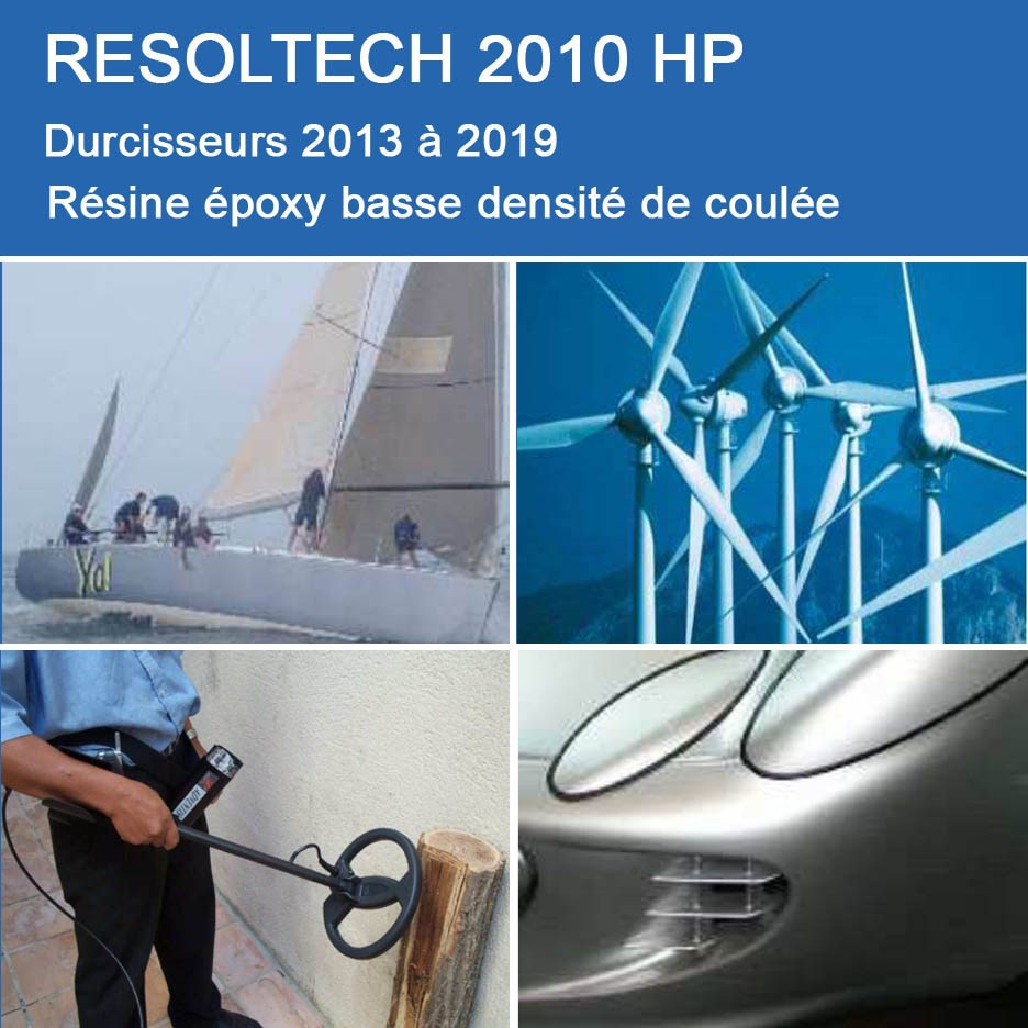Applications de 2010 HP pour Coulée