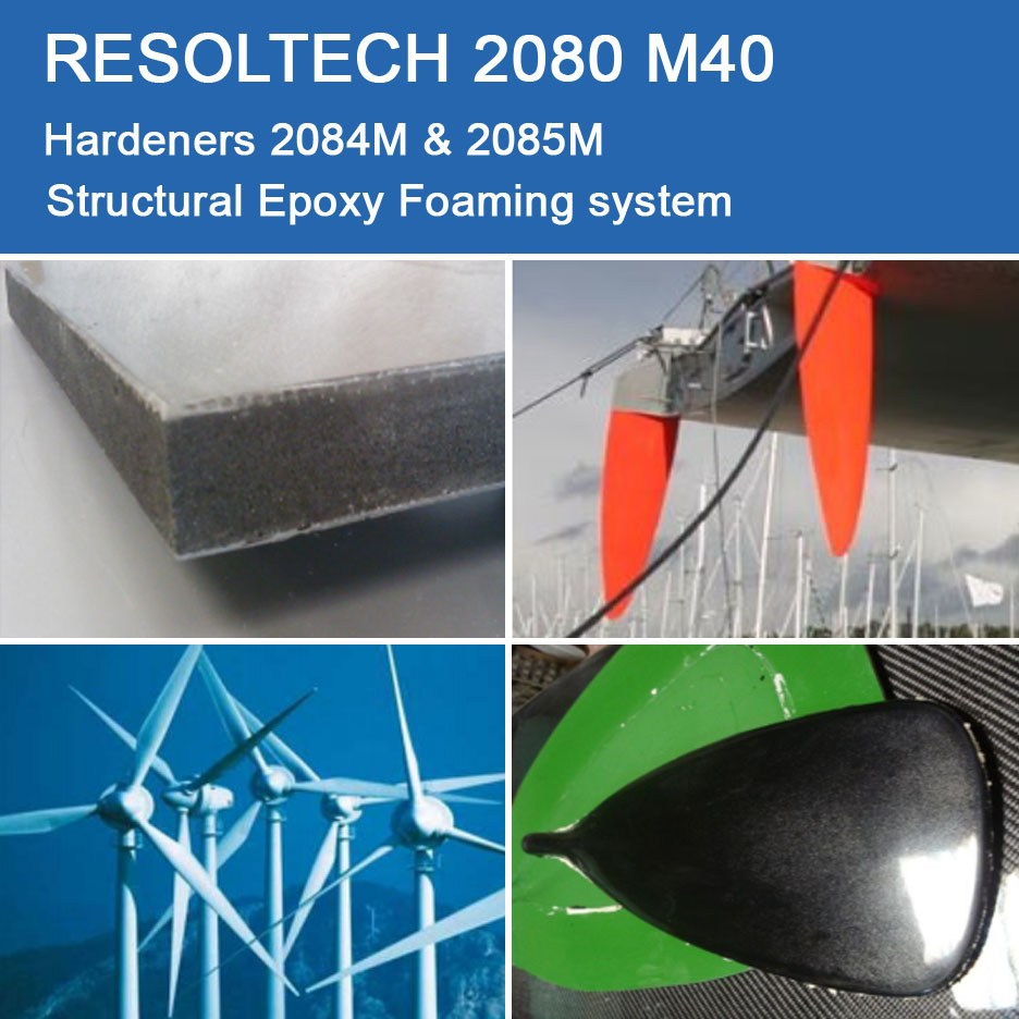 Applications of 2080 M40 for Casting and Foaming