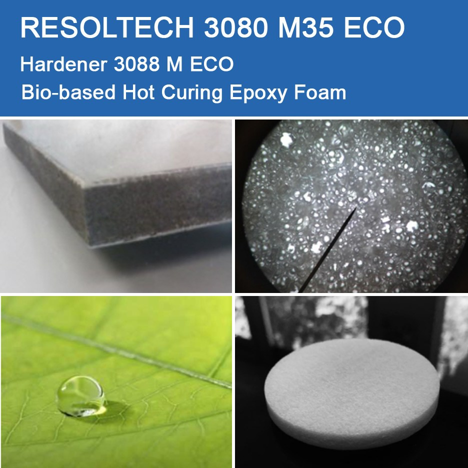 Applications of 3080 M35 ECO for Injection Moulding / RTM and Foaming