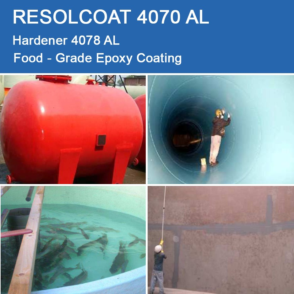 Applications of 4070 AL for Primers, Paints and Varnish and Gelcoats