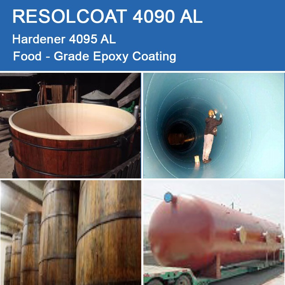 Applications of 4090 AL for Primers, Paints and Varnish and Gelcoats