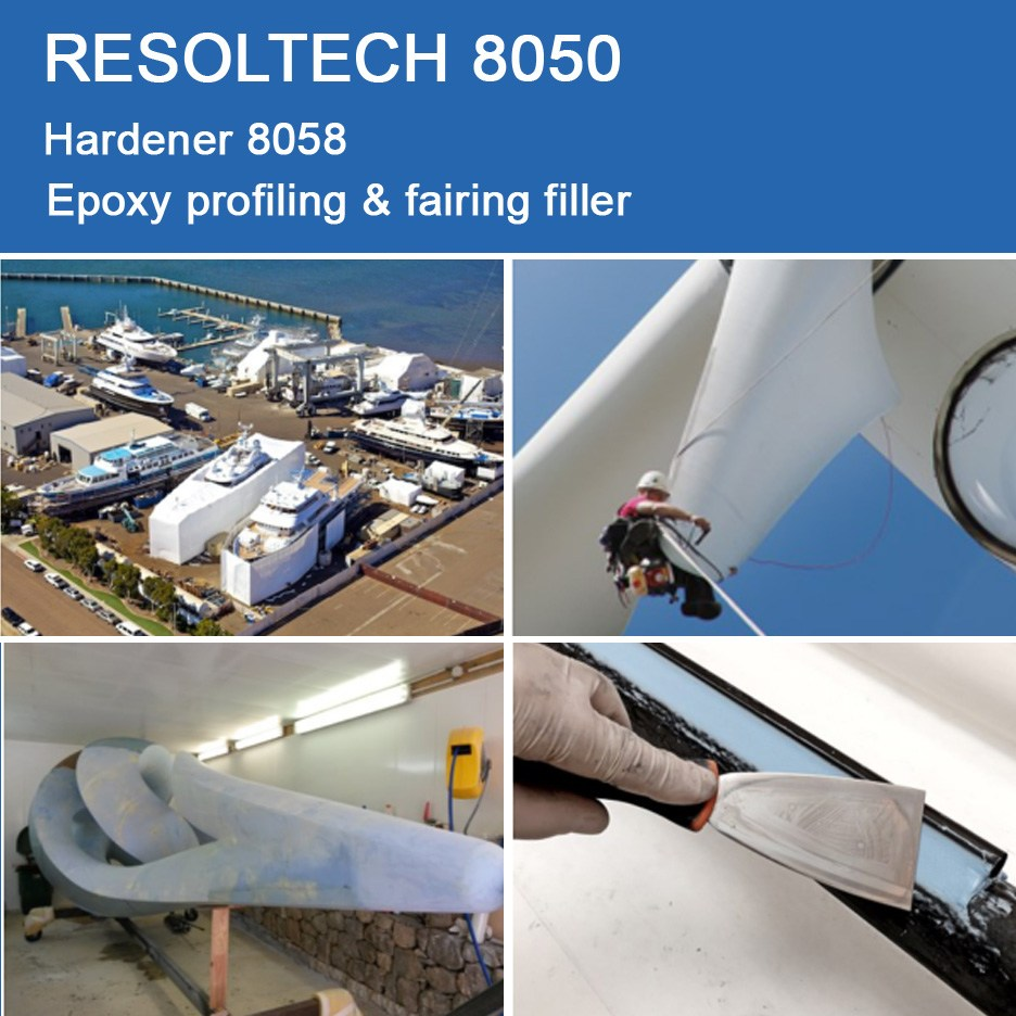 Applications of 8050 for Filling & Fairing
