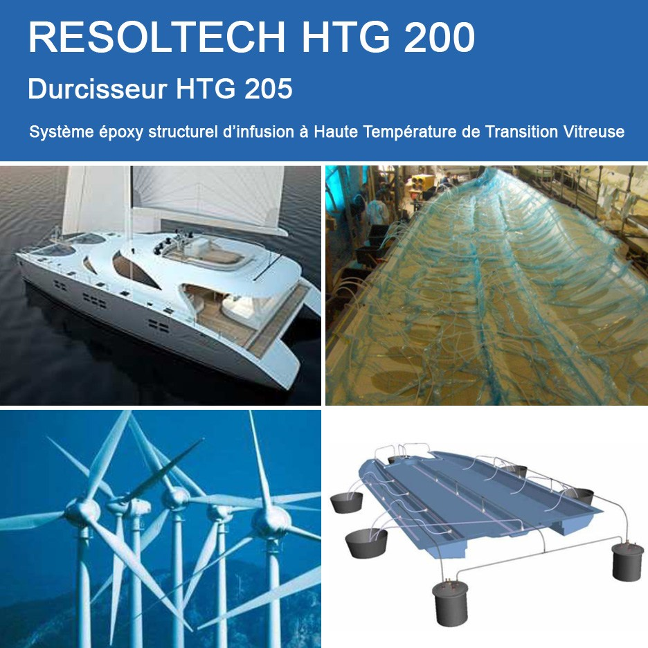 Applications de HTG 200 pour Infusion