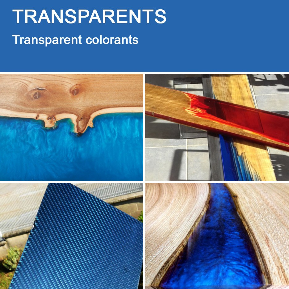 Applications of Transparents for Gelcoats, Casting and Wet layup