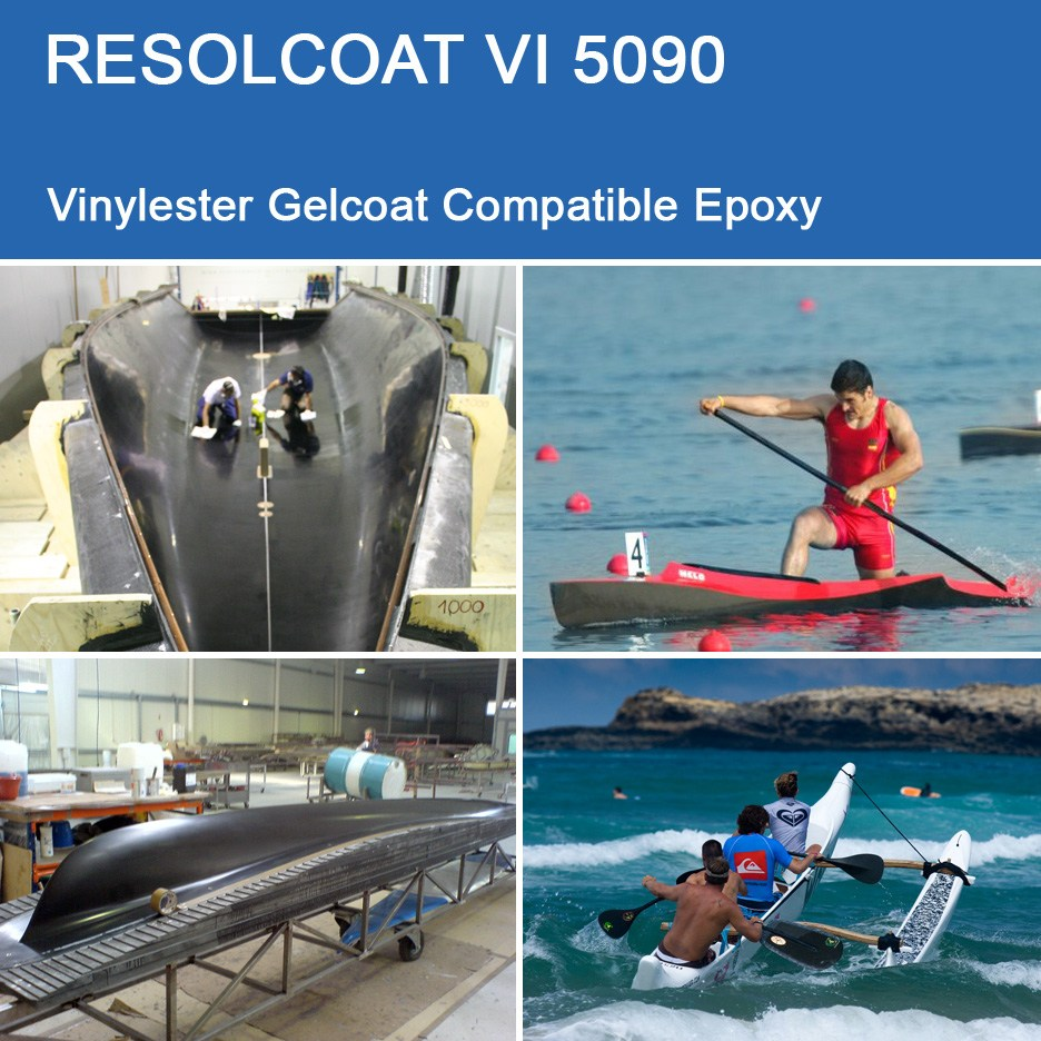 Applications of VI 5090 for Gelcoats